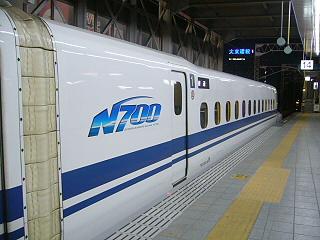 N700系側面4