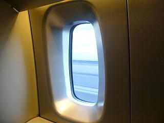 N700系喫煙ルーム小窓