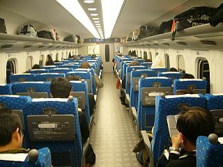 N700系乗車席2