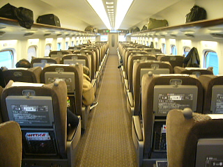 N700系乗車席4