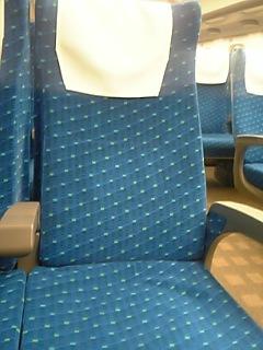 N700系普通車座席