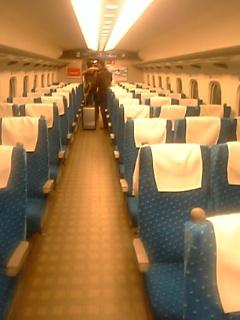 N700系乗車席5