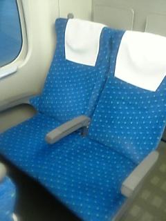 N700系普通車二人掛け座席