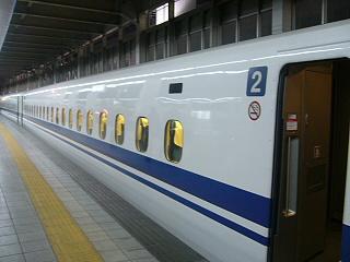 N700系側面窓