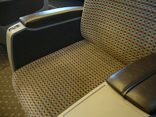 N700系グリーン車シートアップ
